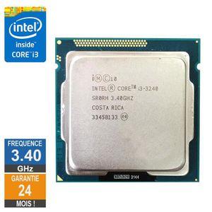PROCESSEUR Processeur Intel Core I3-3240 3.40GHz SR0RH FCLGA1