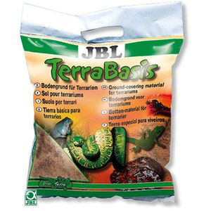 DÉCO VÉGÉTALE - RACINE JBL Substrat Terrabasis - Pour reptiles - 20l