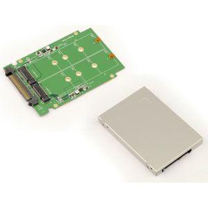 CARTE CONTROLEUR Adaptateur pour 2 SSD M2 (SATA B Key ou B+M Key) v