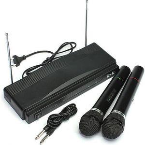 MICROPHONE - ACCESSOIRE NEUFU Paire Sans Fil Micro Microphone FM à Chant D