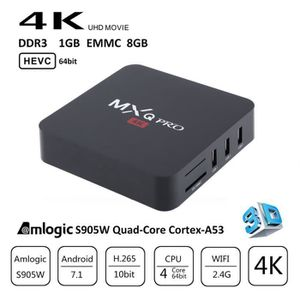 BOX MULTIMEDIA S905W MXQ PRO Android 7.1 TV Box Amlogic Quad Core