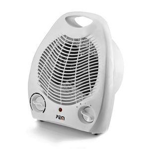 RADIATEUR D'APPOINT PEM Chauffage-Ventilateur - 2000W - HT-201