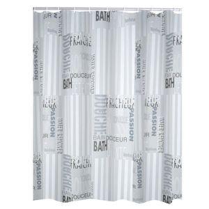 RIDEAU DE DOUCHE RIDDER Rideaux de douche Font en plastique