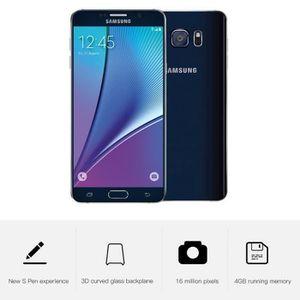 SMARTPHONE Samsung Galaxy Note 5 N920C 32GB LTE 4G Noir 4GB R