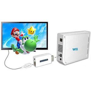 CÂBLE JEUX VIDEO Convertisseur HDMI pour Nintendo Wii Full HD 1080p