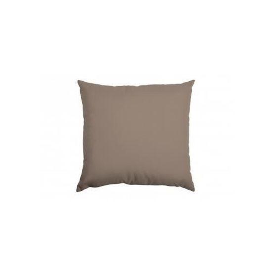40x40 cm Taupe HomeMaison Galette de Chaise Outdoor d/éhoussable Unie Polyester