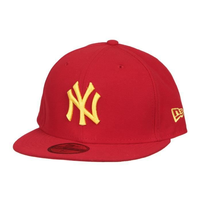 NEW ERA Casquette Collection New York Yankees 59FIFTY - Rouge