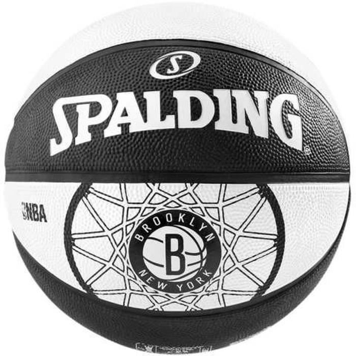 SPALDING Ballon de Basket NBA Brooklyn Nets BKT