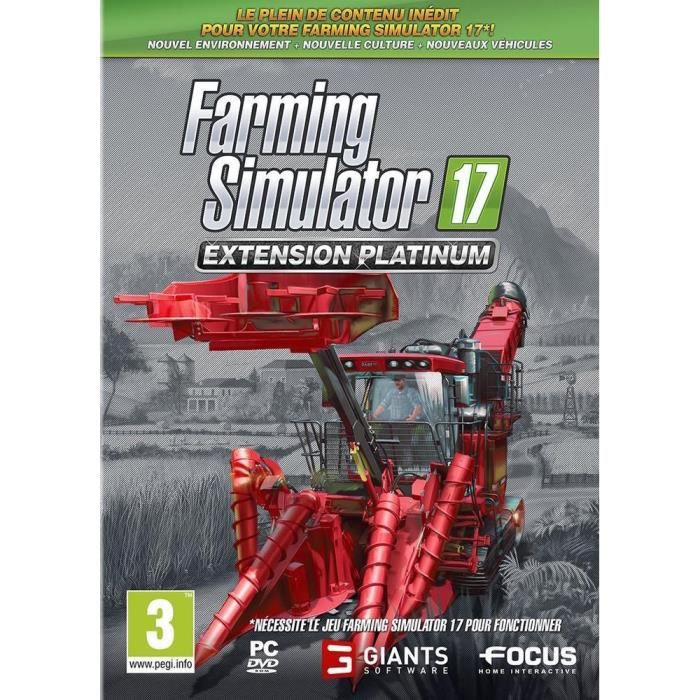 Farming Simulator 17 Extension Platinium PC