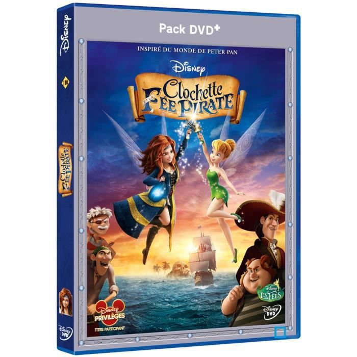 DVD FILM DVD CLOCHETTE ET LA FEE PIRATE