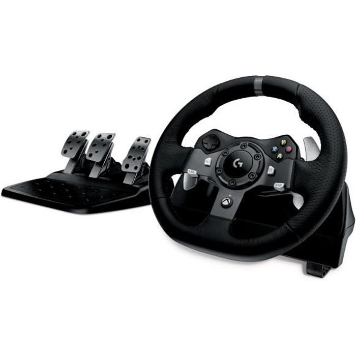 LOGITECH Volant de course G920 Driving Force - Xbox One et PC