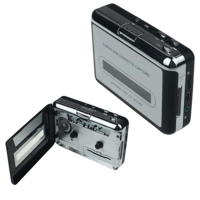 Cassette de lecteur de musique audio vers PC Cassette USB de capture de CD MP3 COMMUNICATION RADIO TALKY 232