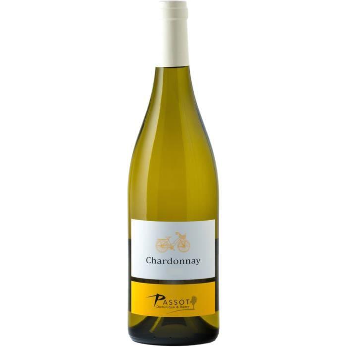 Maison Passot Rémy & fils Chardonnay 2019 IGP Pays d'Oc vin Blanc Languedoc et Roussillon