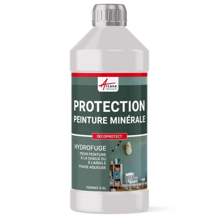 Protection Hydrofuge Enduit Minéral - Transparente - Liquide - 0.5 L
