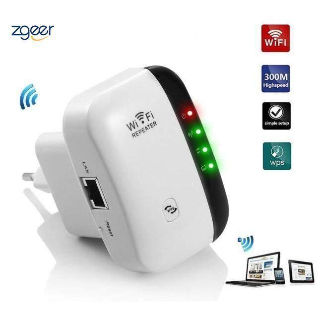 Répéteur WiFi 300Mbps Point d'accès Wi-FI Extenseur sans Fil Amplificateur de Signal Compatibilité Universelle,1 Port Ethernet,