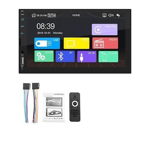 7 ''écran tactile autoradio MP5 lecteur Support réel Apple Carplay pour Iphone Bluetooth HD vidéo jouer caméra - Type no camera