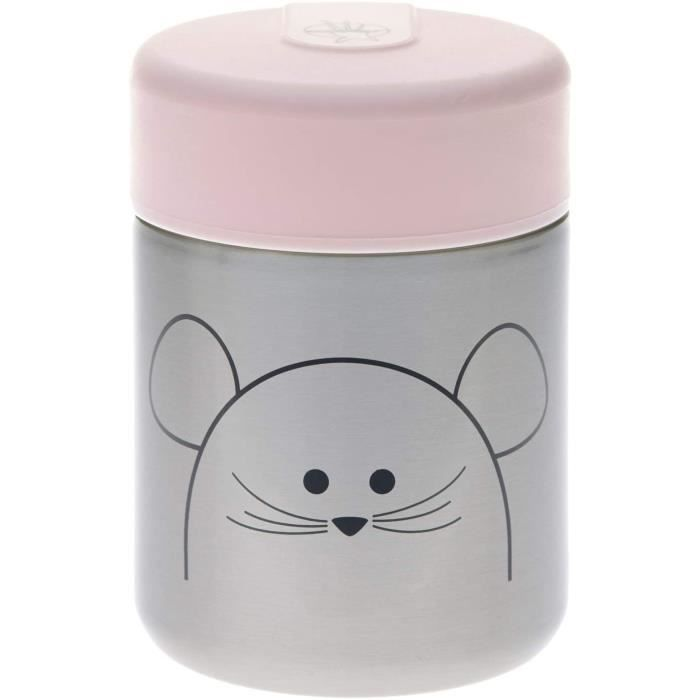 PIECES DETACHEES BIBERON Laumlssig Thermos Repas Little Chums Mouse rose1158