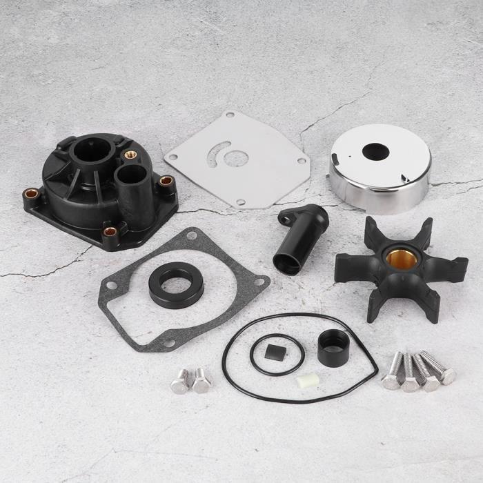 Kit de réparation de pompe à eau pour Johnson 3 cylindres 60 65 70 75HP hors-bord OEM 432955