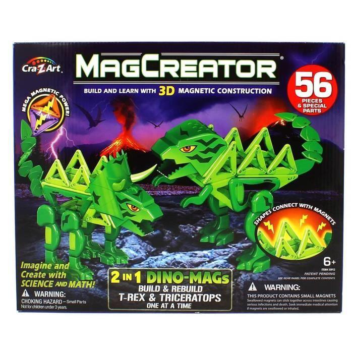 MagCreator dinosaures- PIECE DETACHEE MODELISME