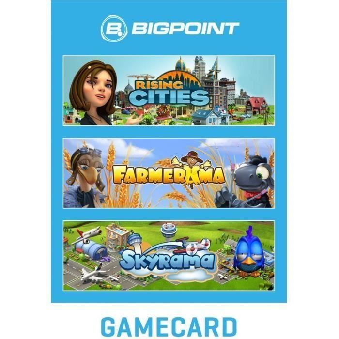 Carte Bigpoint Casual Game 15€