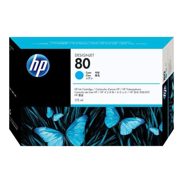 HP Cartouche d`impression 80 - Cyan