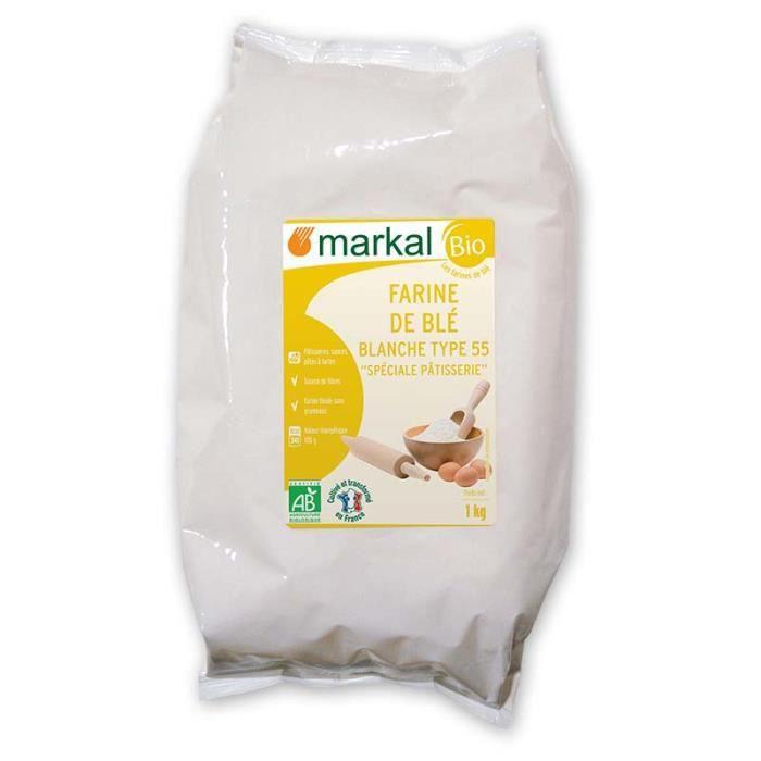 MARKAL - FARINE DE BLE BLANCHE PATISSIERE T55 1