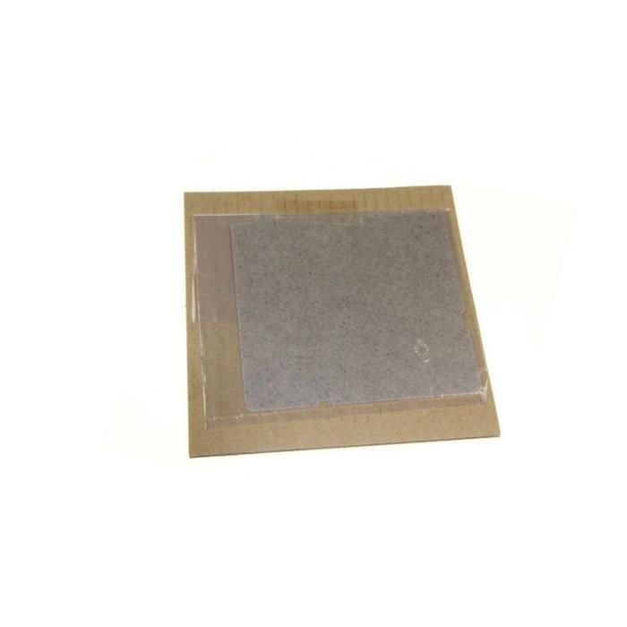 Plaque Mica Guide Ondes 11.6 X 10.8 Cm Ref PCOVPA419WREZ Pour MICRO ONDES PANASONIC