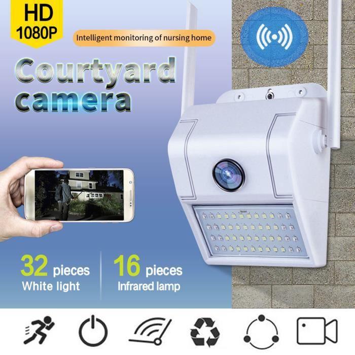 1080P HD Wi-Fi Surveillance à domicile Caméra IP extérieure Vision nocturne sans fil étanche