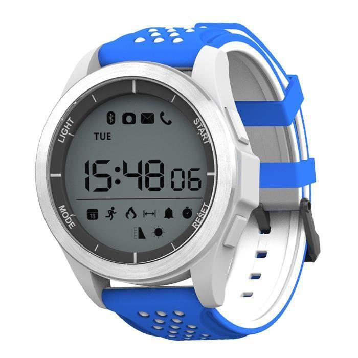 Montre intelligente F3 pour sport en plein air Bluetooth Professional Smart Watch imperméable à l'eau avec Android et iOS Smartphone