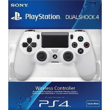MANETTE DUALSHOCK BLANCHE / Accessoire console PS4