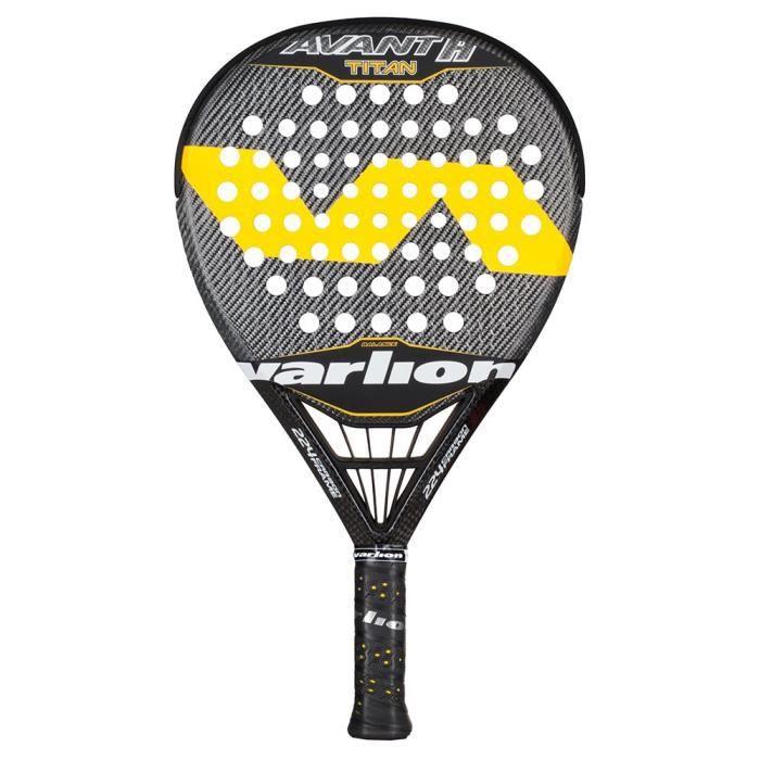VARLION Palas-1607317 Raquette de Tennis Mixte Adulte, Jaune, XL