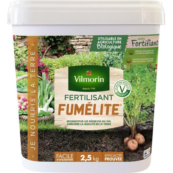 VILMORIN Fertilisant Fumélite + Fortifiant - 20 kg