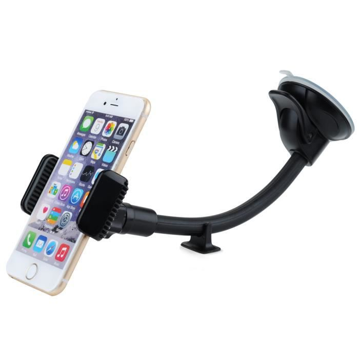 mpow support voiture support t l phone rotation de 360 degr s pour apple iphone se iphone 6s. Black Bedroom Furniture Sets. Home Design Ideas
