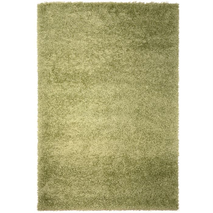 tapis shaggy longue m che vert 160x230cm achat vente tapis soldes cdiscount. Black Bedroom Furniture Sets. Home Design Ideas