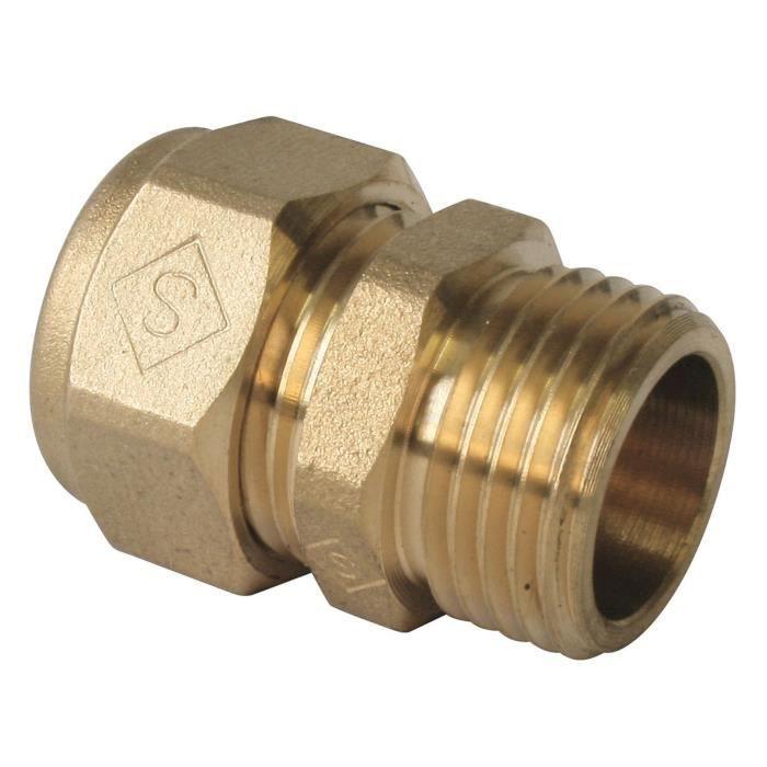 Coude PER a compression /Ø12