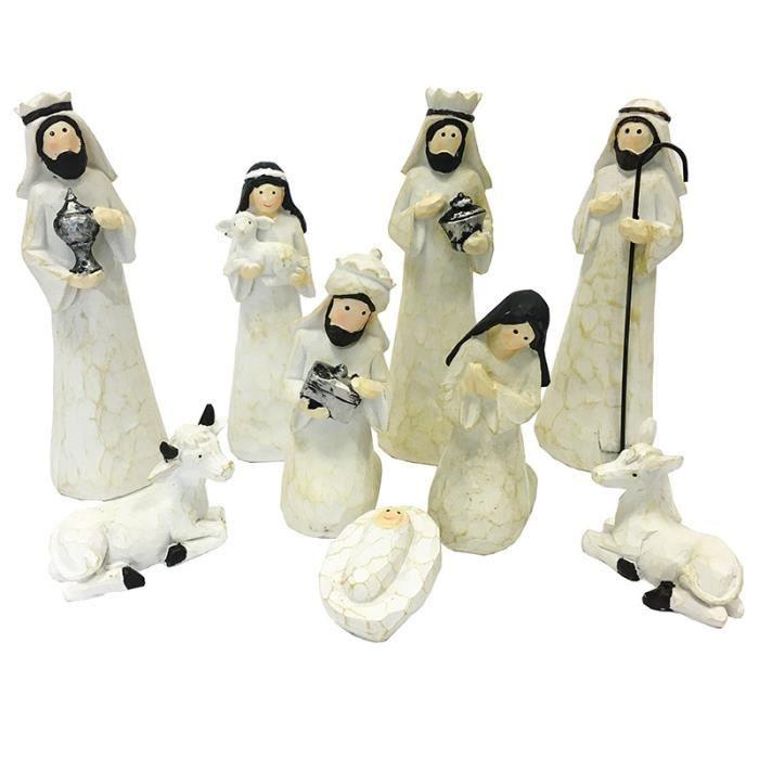 Décoration de Noël-Nativité Figurine Set-Choisir Design