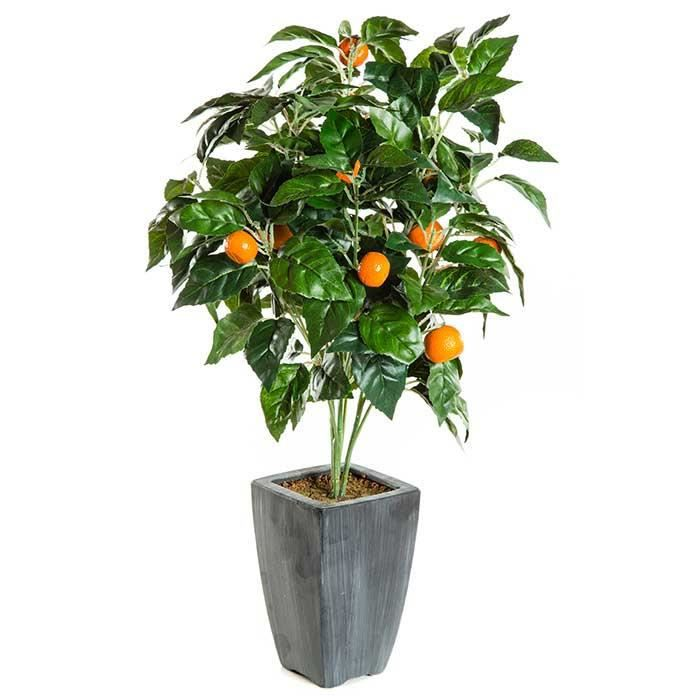 arbre fruitier artificiel oranges oranger achat vente fleur artificielle cdiscount. Black Bedroom Furniture Sets. Home Design Ideas