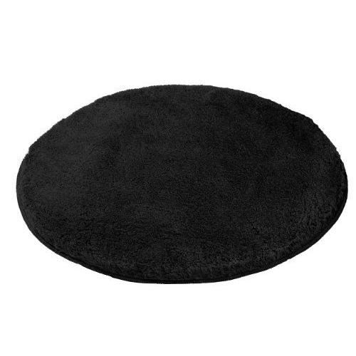 kleine wolke 5405926518 tapis de bain relax 80 cm rond noir achat vente tapis de bain. Black Bedroom Furniture Sets. Home Design Ideas