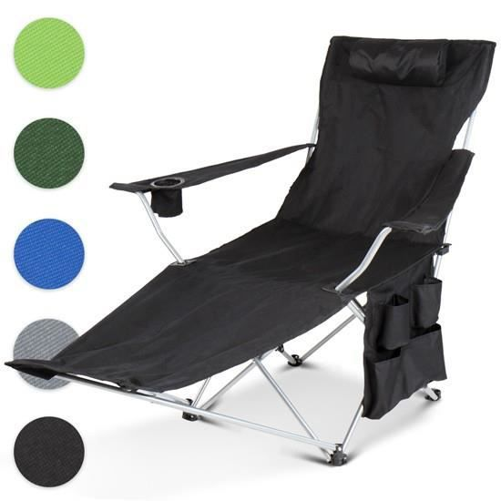 Chaise de camping cpst09 apfel gr n prix pas cher for Chaise de camping