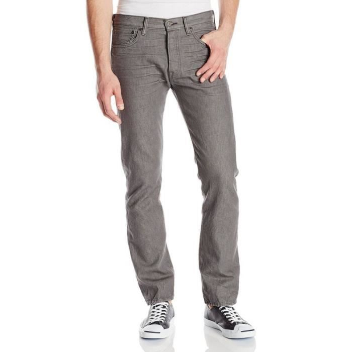 jeans levis 501 original grey gris achat vente jeans cdiscount. Black Bedroom Furniture Sets. Home Design Ideas