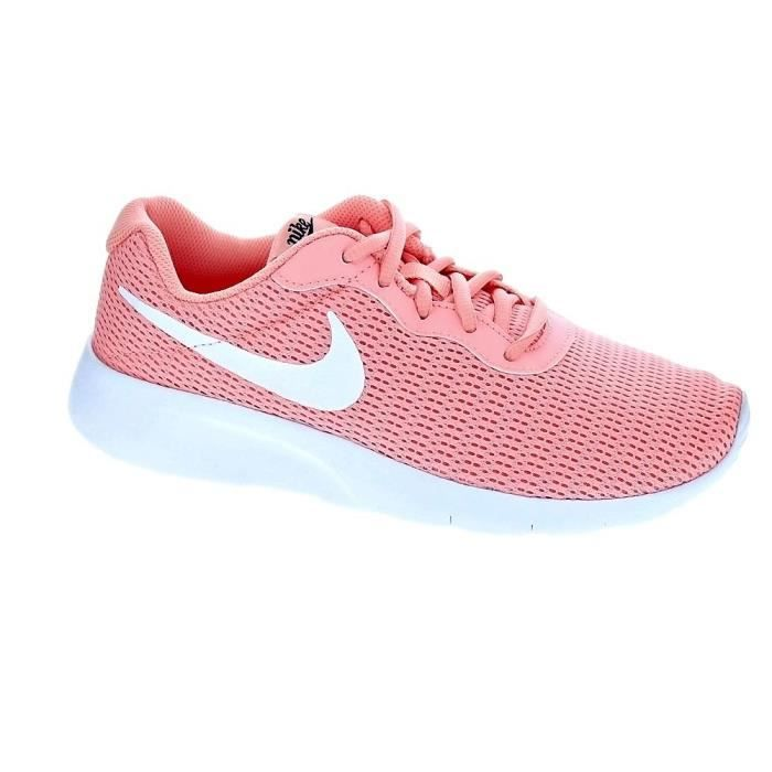 Baskets - Nike Tanjun Fille Rose Rose - Achat / Vente basket ...