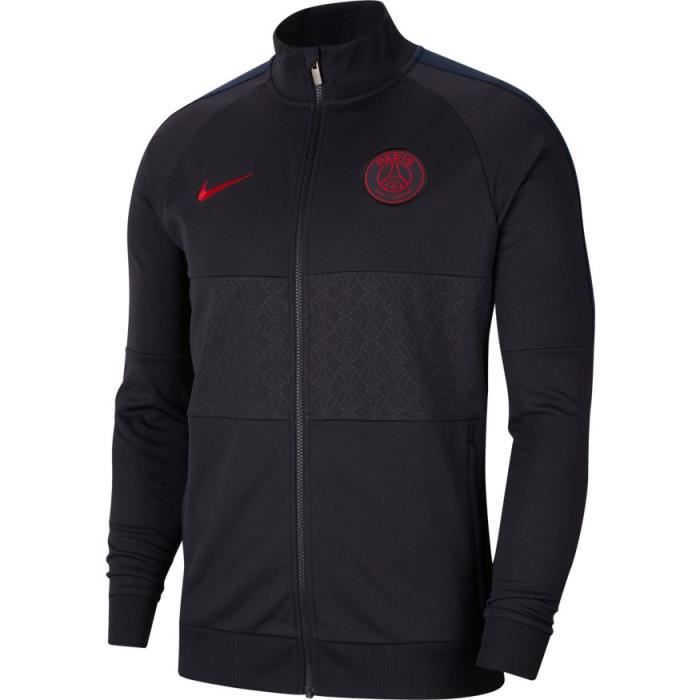 VESTE NEWS PSG PARIS TOP NOIRRED ADULTE 20192020 jordan