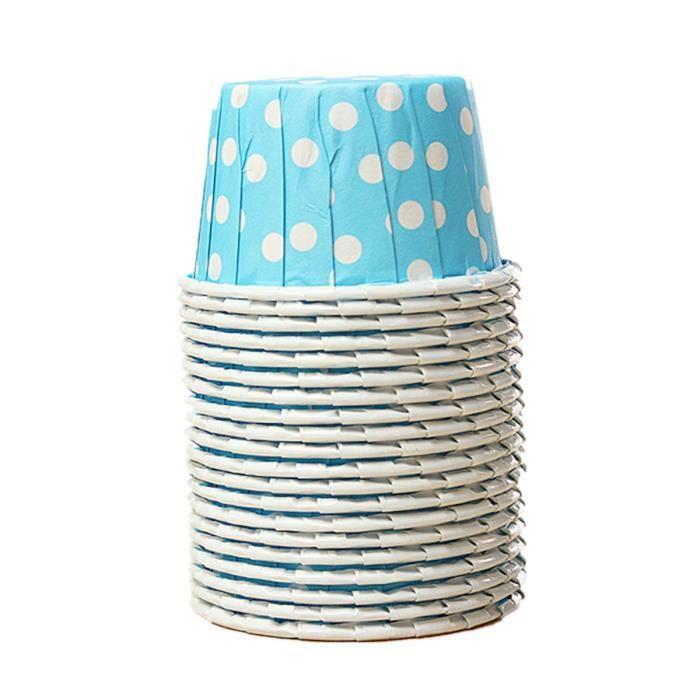 bleu Papier 16.5 x 3 x 16.5 cm Dessert Dessert de serviettes de table ou de plage f/ête nautique de f/ête de plage Maison D/écor voilier