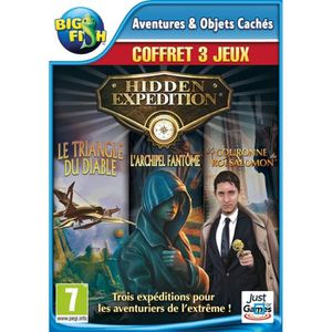 JEU PC Pack Hidden Expedition Jeux PC