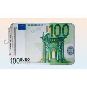 Lot de 10 Serviettes de table en forme de billet de 100€ 100 euro jetable €