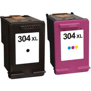 CARTOUCHE IMPRIMANTE Pack 2 cartouches d'encre N° 304 XL Noir et Couleu