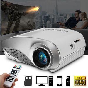 Vidéoprojecteur 3D Full HD 1080P Mini projecteur LED cinéma maison