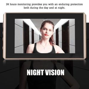 SONNETTE - CARILLON Sonnette de porte, Visionneuse de porte numérique