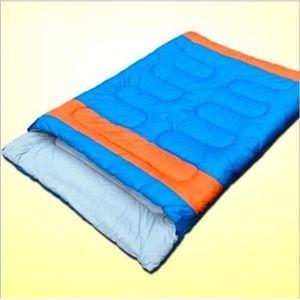 SAC DE COUCHAGE Double sac de couchage - Camping ou Randonnée Sac