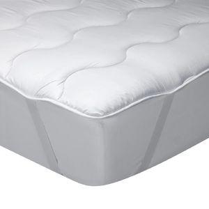 SUR-MATELAS Classic Blanc - Surmatelas en fibre hypoallergéniq